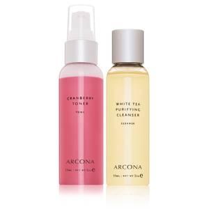 ARCONA Glow and Go Duo (Worth $41)