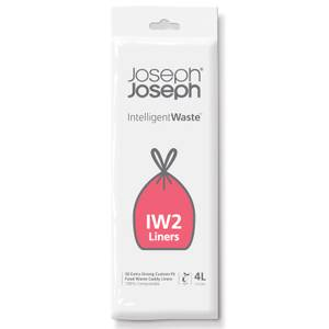 Joseph Joseph IW2 4 Litre Biodegradable Waste Caddy Liners (50 Pack)