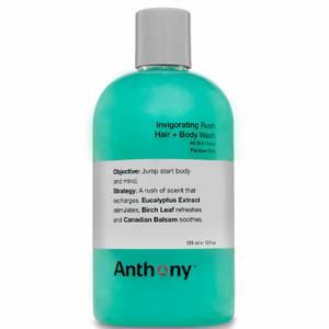 Anthony Invigorating Rush Hair and Body Wash 355ml
