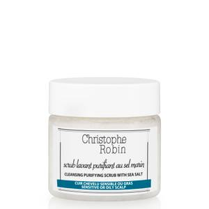 Christophe Robin Cleansing Purifying Sea Salt Scrub (40ml) (Worth £7) (Free Gift)