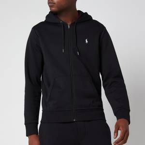 Polo Ralph Lauren Men's Double Knitted Zip-Through Hoodie - Polo Black
