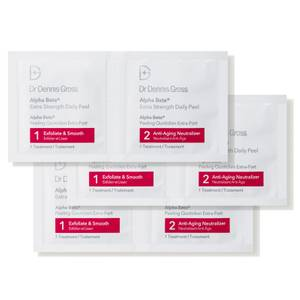 Dr Dennis Gross Skincare Alpha Beta Extra Strength Daily Peel (Pack of 60, Worth $204)