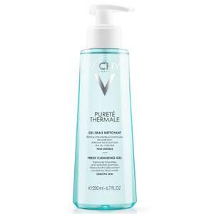 VICHY Pureté Thermale Fresh Cleansing Gel, Paraben-Free, Alcohol-Free, 6.76 Fluid Ounce