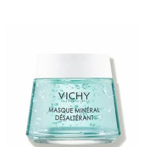Vichy Hydrating Quenching Mineral Face Mask for Dry Skin with Vitamin B3, 2.54 Fl. Oz.