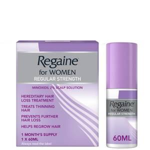 Лосьон от выпадения и для стимуляции роста волос для женщин Regaine for Women Regular Strength Hair Regrowth Solution 60 мл