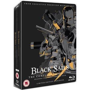 Black Sails: Colección Completa - Steelbook Ed. Limitada Exclusivo de Zavvi