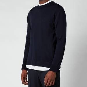 Officine Generale Men's Nina Merino Wool Jumper - Navy