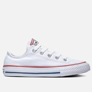 Converse Kids' Chuck Taylor All Star Ox Trainers - White