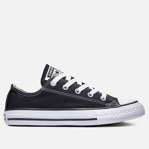Converse Kids' Chuck Taylor All Star Ox Trainers - Black