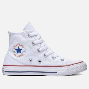 Converse Kids' Chuck Taylor All Star Hi - Top Tainers - Optical White