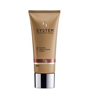 System Professional LuxeOil Keratin Conditioning Cream - balsamo rinforzante alla cheratina 200 ml