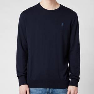 Polo Ralph Lauren Men's Slim Fit Cotton Sweater - Hunter Navy