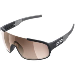 POC Crave Uranium Black Translucent/Grey/Brown/Silver Mirror Sunglasses