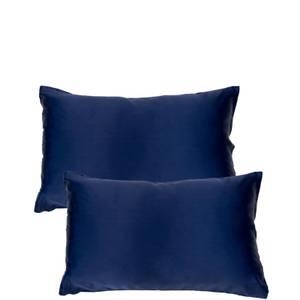 The Goodnight Co. Silk Twin Set Pillowcase - Navy