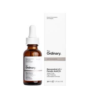 The Ordinary Resveratrol Serum 3% + Ferulic Acid 3% 30ml
