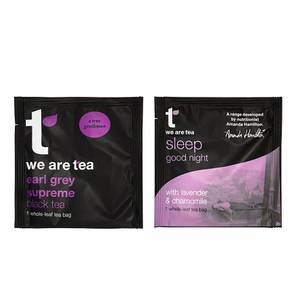 we are tea - Earl Grey & Sleep Tea Bags