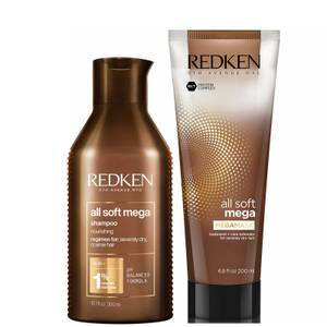 Redken All Soft Mega Shampoo and Mask Duo