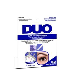 Быстросохнущий клей для накладных ресниц DUO Quick-Set Striplash Adhesive 5 г - Clear