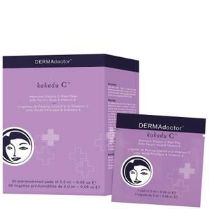 DERMAdoctor Kakadu C Intensive Vitamin C Peel Pad with Ferulic Acid and Vitamin E