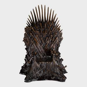 Noble Collection Game of Thrones The Iron Throne Bronze Deluxe Statue 14 Inches