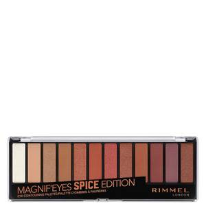 Rimmel Magnif'eyes 12 Pan Shade Palette 14g - Spice