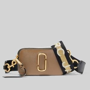 Marc Jacobs Women's Snapshot MJ Cross Body Bag - French Grey Multi