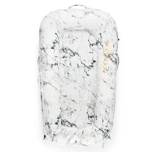 DockATot Deluxe + Pod for 0-8 Months - Carrara Marble