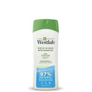 Средство для душа с чистыми минералами соли Эпсома Westlab Reviving Shower Wash with Pure Epsom Salt Minerals 400 мл