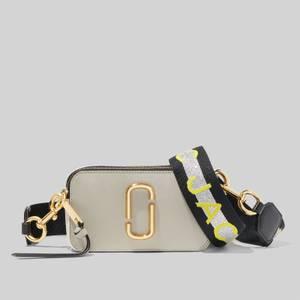 Marc Jacobs Women's Snapshot MJ Cross Body Bag - Dust Multi