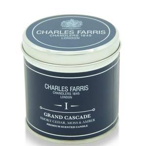 Charles Farris Signature Grand Cascade Tin Candle 300g
