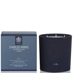 Charles Farris Signature Grand Cascade 3 Wick Candle 640g