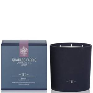 Charles Farris Signature Rubus 3 Wick Candle 640g