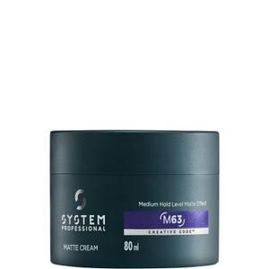 System Professional MAN Matte Cream 80ml