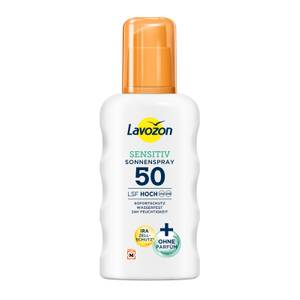 LAVOZON Sensitiv Sonnenspray Lsf 50