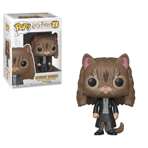 Figura Funko Pop! - Hermione como Gato - Harry Potter