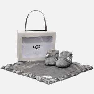 UGG Babie's Bixbee Gift Set - Charcoal