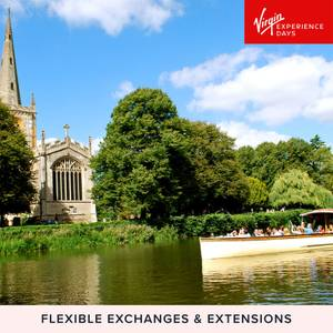 Afternoon Tea and River Sightseeing Cruise for Two in Historic Stratford Upon Avon