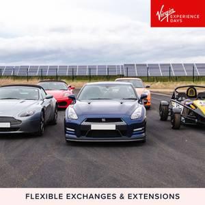 Five Supercar Blast Plus High Speed Passenger Ride and Photo