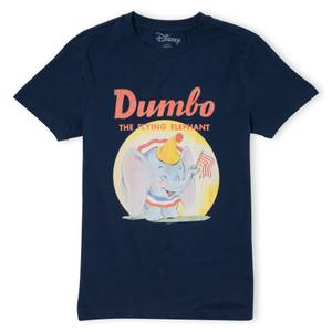 Dumbo Flying Elephant T-Shirt - Navy