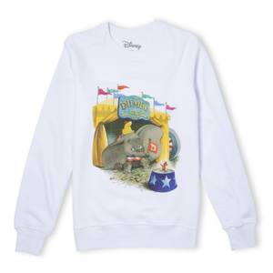 Dumbo Circus Sweatshirt - White