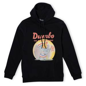 Dumbo Flying Elephant Hoodie - Black