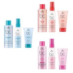 Schwarzkopf Professional Shampoo / Conditoner / Treatment Hyaluronic Moisture Kick / Ph 4.5 Color Freeze / Peptide Repair Rescue