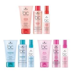 Schwarzkopf Shampoo / Conditoner / Treatment Hyaluronic Moisture Kick / Ph 4.5 Color Freeze / Peptide Repair Rescue