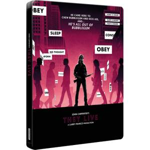 Invasion Los Angeles - Steelbook 4K Ultra HD Édition Ultra Limitée Exclusivité Zavvi