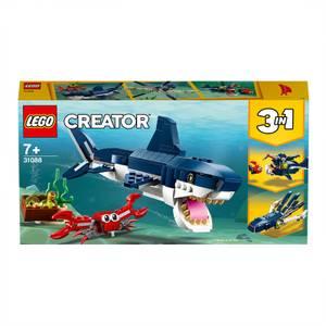 LEGO Creator: 3in1 Deep Sea Creatures Building Set (31088)