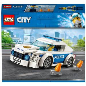 LEGO City: Police Patrol Chase Car Toy with Policeman (60239)