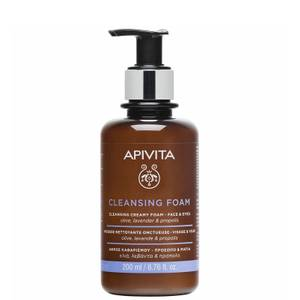 APIVITA Face and Eyes Cleansing Foam 6.76 fl. oz