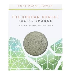 The Konjac Sponge Company The Elements Earth Facial Sponge - Energising Tourmaline 30g