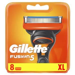 Gillette Fusion Razor Blades Refill, 8 Pack