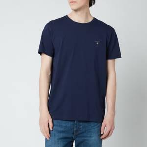 Gant Men's Original T-Shirt - Evening Blue